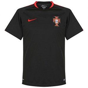 2016-2017 Portugal Nike Training Shirt (Black)