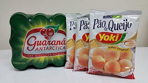 12 x Guarana & 3 x Cheese Bread - 12 x Guarana & 3 x Pao de Queijo