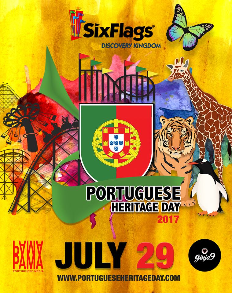 Portuguese Heritage Day - Six Flags Discovery Kingdom - 2017!