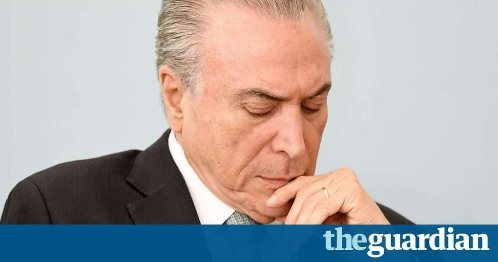 Accused of corruption, popularity near zero – why is Temer still Brazil's president?