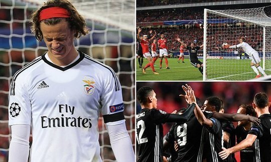 Benfica 0-1 Manchester United: Keeper blunder hands visitors victory