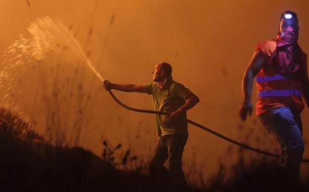 More than 30 dead in wildfires in Portugal and Spain
