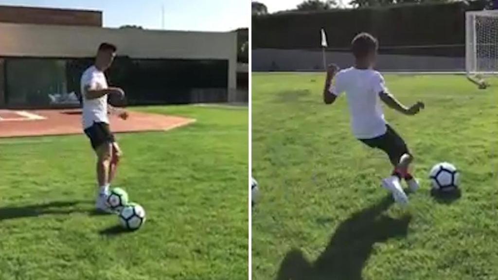 Cristiano Ronaldo reveals son's biggest passion in life