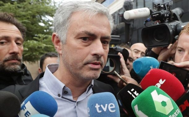 Mourinho denies Spain tax fraud