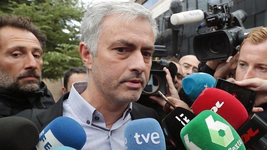 Mourinho denies Spain tax fraud