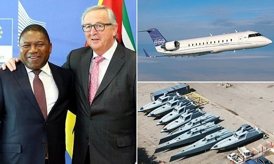 Mozambique's leader buys a £7million private jet while people starve