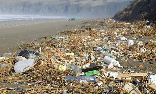 We breathe in up to 130 bits of plastic a day
