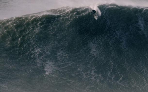 Alex Botelho, on Sticking the Drop at Nazaré