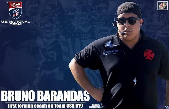 Brazilian Bruno Barandas first foreign coach on Team USA U19 staff