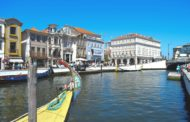 One night in Aveiro, Portugal