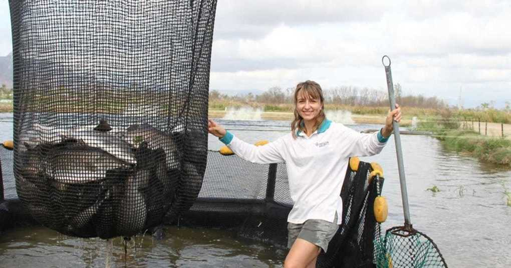Women in aquaculture: Dr Giana Gomes