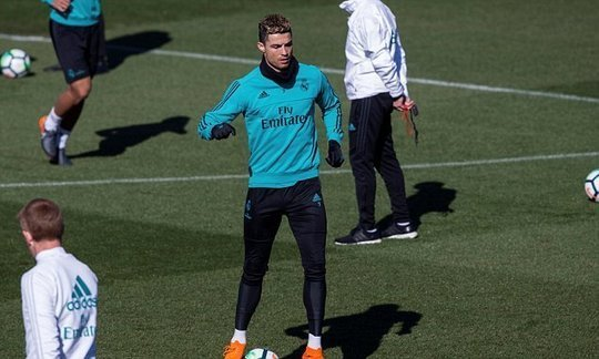 Cristiano Ronaldo for Real Madrid's clash with Espanyol | Daily