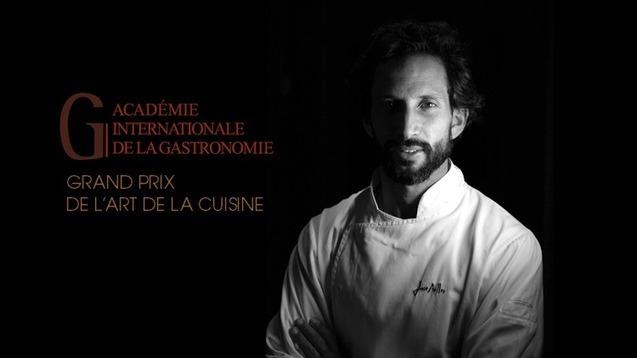 Jozé Avillez Honored with Grand Prix de L 'Art de La Cuisine