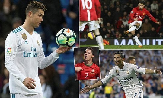Cristiano Ronaldo scored the 50th hat-trick of his career | Daily