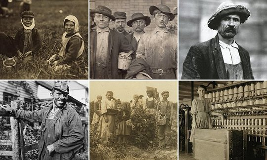 Pictures reveal faces of migrant workers who built America | Daily