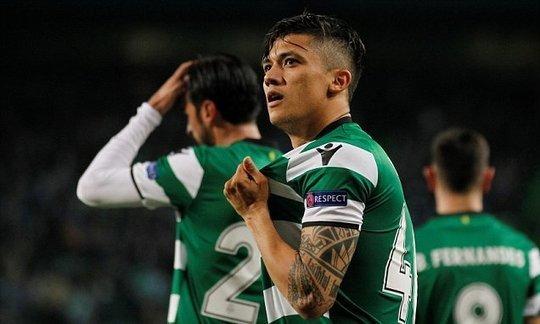 Sporting Lisbon 2-0 Viktoria Plzen: Fredy Montero double earns win | Daily