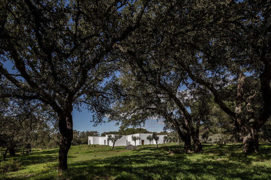 Wonderful House Inspired by Portuguese Rural Settlements, Full of Serene Spaces