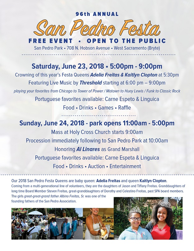 96th Annual San Pedro Festa 2018 - West Sacramento, California